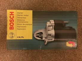 Bosch Starter Motor for Ford, Mazda & Volvo - Petrol Engines - BRAND NEW - SEALED!