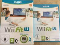 Wii Fit U Nintendo game only for Europe version, no wii meter