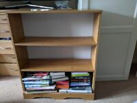 Bookcase - pine effect