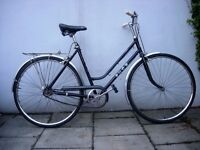 Vintage Ladies Dutchie/Commuter/ Town Bike by Puch, Black, Rides Great! JUST SERVICED/ CHEAP PRICE!!