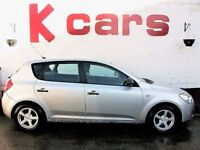 2008 KIA CEE'D 1.6 S 5-DOOR FULL DEALER HISTORY EXCELLENT CONDITION