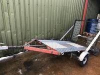 Motorbike trailer quad plant mx