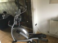 Gym style cross trainer