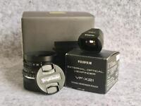 Leica fit Voigtlander VM Color Skopar 21mm F4 complete with Fuji 21mm finder
