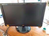 20 Inch AOC Computer Monitor, Keyboards and Mouse