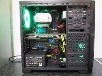 ★High Spec 6Core/GTX 690 4GB Dual GPU/2TB HDD/8GB Ram/4k Ready Gaming Pc★