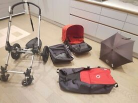 Bugaboo Cameleon 1 with accessories pram buggy pushchair