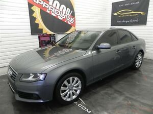 2012 Audi A4 2.0T (M6) *awd*Cuir*Toit*Mags*