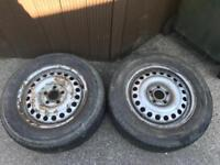 Ford transit connect tyres and wheels