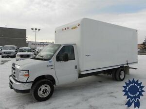 2016 Ford E-450 16 ft Cube Van - Rear Wheel Drive, 22,353 KMs
