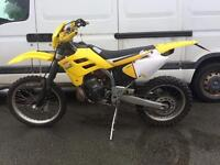 2002 Gas Gas 125 200 reg 125 long mot Mx crosser enduro road legal