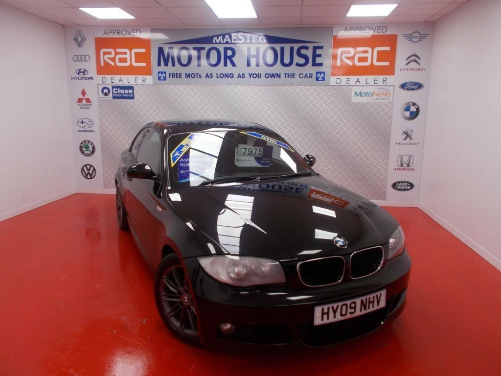 BMW 120d M SPORT COUPE(FREE MOT'S AS LONG