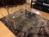 Second Hand Glass Coffee Table