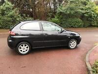 SEAT IBIZA SE 3 DOOR 2003 1.4 BLACK LONG MOT DRIVES LOVELY BARGAIN