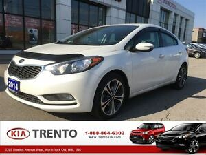 2014 Kia Forte EX|LOW KM|17ALLOY|BACKUP CAM|UVO|