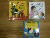 New baby / big brother/ big sister books