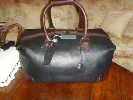 NEW ROCHA JOHN ROCHA LEATHER HOLDALL RRP £170 WITH ALL TAGS