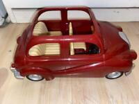Sylvanian families Red family car