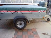 6ft x 4ft Galvanized Camping trailer