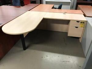 USED Office Furniture L-shape desk