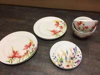 Pretty plates and bowls