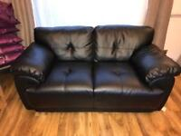 **Almost brand new Real Leather sofas for sale **