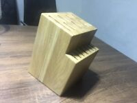 Kitchen Wooden Knife Block - 14 slots