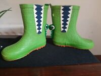 Kids crocodile wellies *collection only*