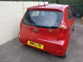 Kia Picanto 2, eco dynamic. More tech than you would expect in a small stylish city car!