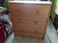 FREE small chest of drawers