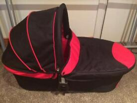 Icandy Cherry carrycot Black/red