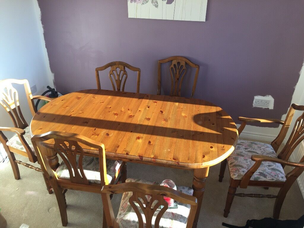 Well Looked After Dining Table For Sale Selling Because We Need Space New One