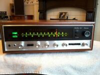 FULLY SERVICED AND RECAPPED SANSUI 4000 RECEIVER NEAR MINT