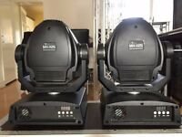 2x Stairville MH-X25 LED Spot Moving Head with Flight Case FOR SALE