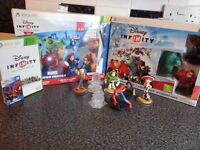 DISNEY INFINTY CHARACTERS XBOX 360 WITH GAME DISC