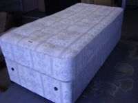 Myers Single Storage Divan Bed Set with 2 Drawers