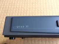 Quad 77 Amplifier with remote control - non functioning
