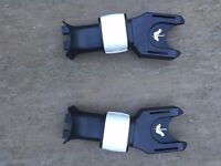 Bugaboo adapters for Maxi-Cosi Cabriofix or Pebble Car Seat
