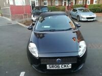 Fiat punto diamond black newer shape long mot £595
