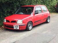 Nissan Micra K11 1998 modified lowered