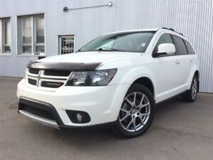 2015 Dodge Journey R/T, AWD, 7 PASS, COLOR TV, LEATHER.