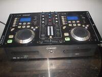 DJ MIXER CD PLAYER