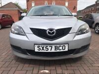 MAZDA 3 TS 1.6 PETROL HATCBACK SILVER 5DRS EXCELLENT CONDITION MOT ENDS 4TH JANUARY 2019