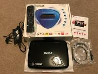 Freesat TV Satellite Set Top Box - Humax HDR-1100S 500GB Twin Receiver as New