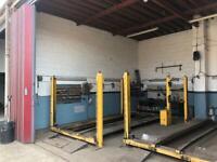 commercial workshop garage unit for rent mechanic