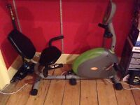 This V-fit G-RC Recumbent Magnetic Exercise Cycle