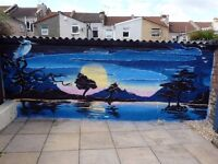 Free mural and street art painting!!