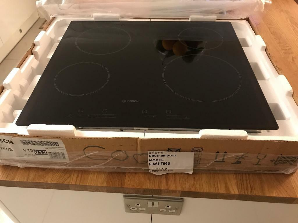 Bosch 4 zone ceramic induction hob brand new