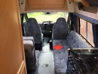 Ford Autosleeper Duetto 2004 turbo diesel.
