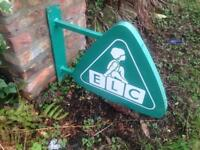 ELC EARLY LEARNING CENTRE SHOP SIGN